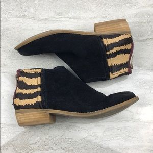 Dolce Vita Suede Booties Size 7
